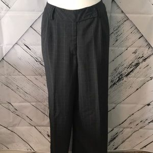 Dark gray dress slacks